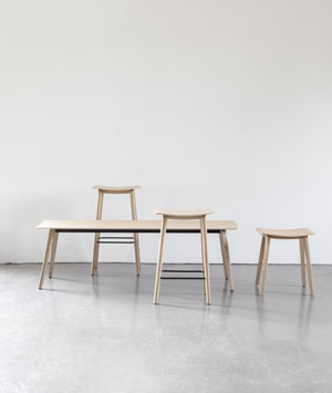 Four Seating Benches and Stools